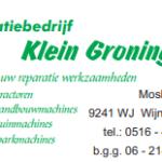 Reparatie bedrijf Klein Groningen